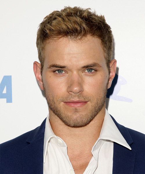 Kellan Lutz - Casual Short Straight Hairstyle
