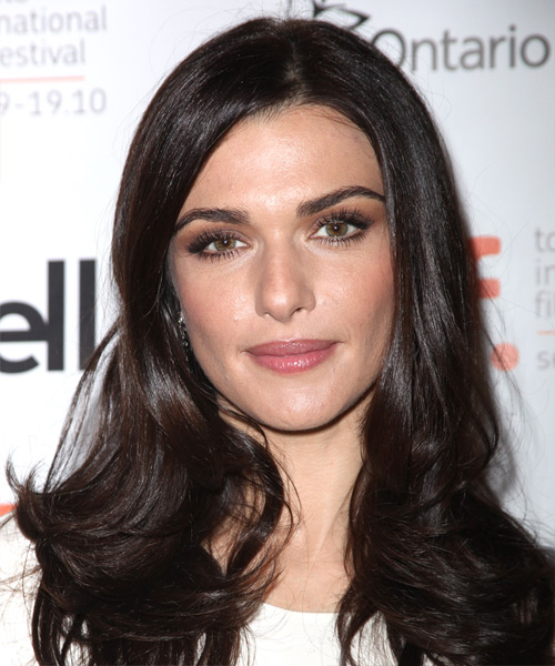 Rachel Weisz Long Straight Hairstyle - Dark Brunette (Mocha)