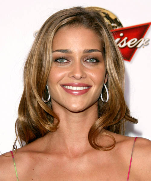 Ana Beatriz Barros - Casual Long Wavy Hairstyle