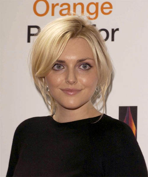 Sophie Dahl - Casual Medium Straight Hairstyle
