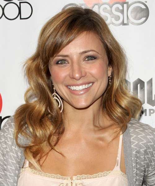 Christine Lakin Medium Wavy Casual Hairstyle
