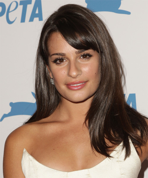 Lea Michele - Formal Long Straight Hairstyle