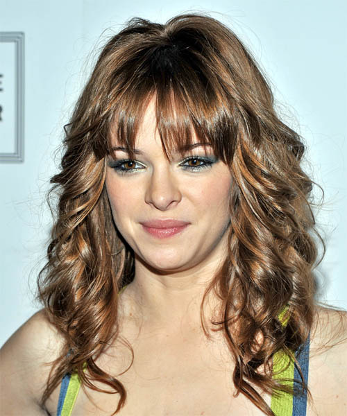 Danielle Panabaker - Casual Long Wavy Hairstyle