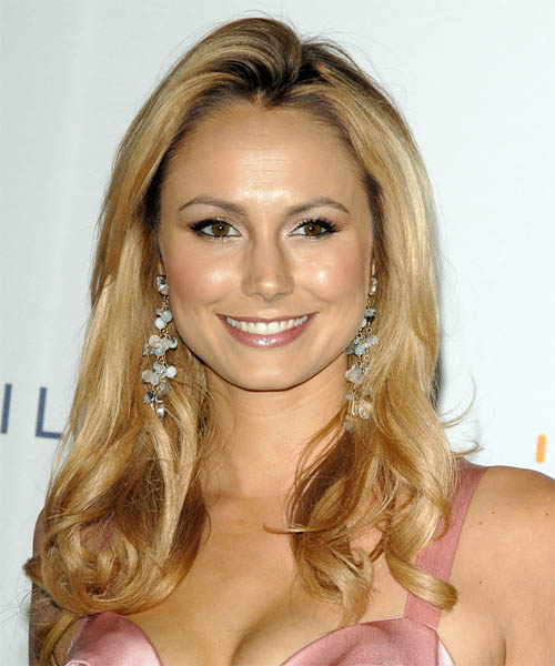 Stacy Keibler Long Wavy Formal Hairstyle