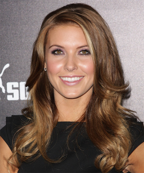 Audrina Patridge Long Wavy Casual