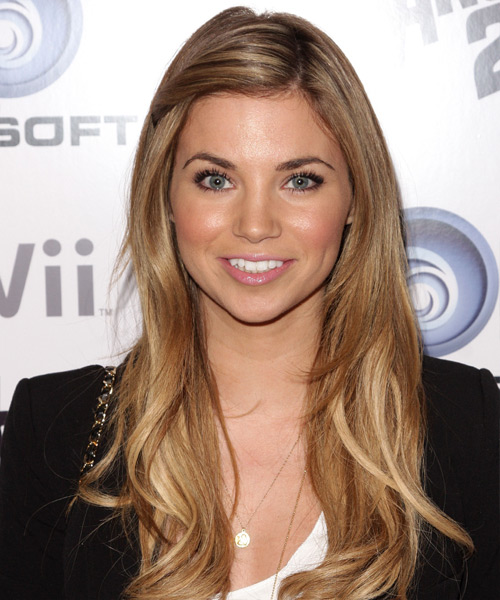 Amber Lancaster Long Straight Hairstyle