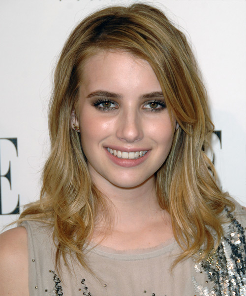 Emma Roberts - Casual Long Straight Hairstyle