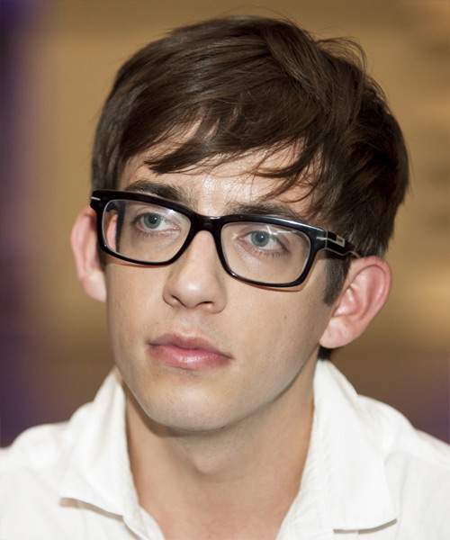 Kevin McHale Short Straight Hairstyle - Medium Brunette