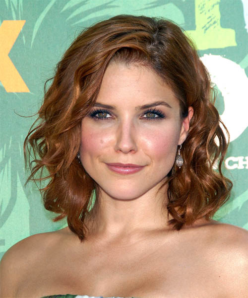 Sophia Bush - Casual Medium Curly Hairstyle