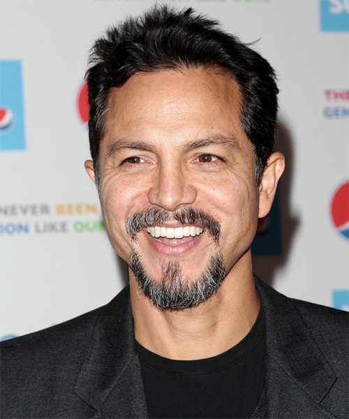 Benjamin Bratt Short Straight Hairstyle