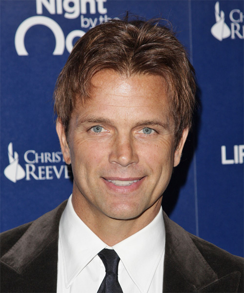 David Chokachi Short Straight Hairstyle