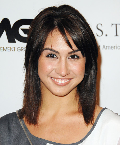 Lauren Gottlieb - Casual Medium Straight Hairstyle