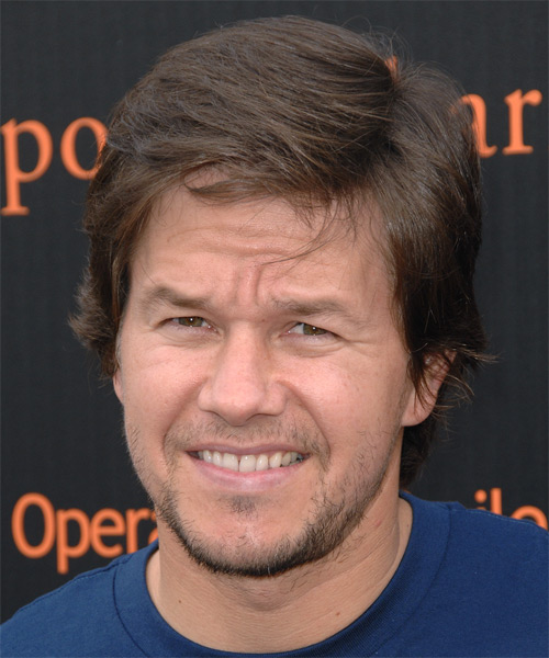 Mark Walhberg Short Straight Formal Hairstyle