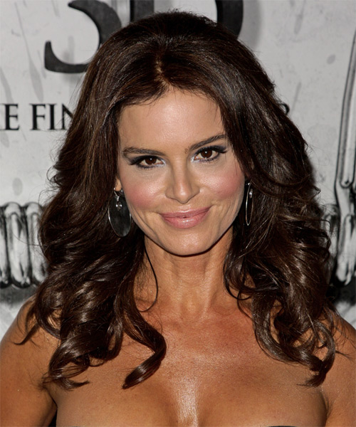 Betsy Russell Medium Wavy Formal Hairstyle
