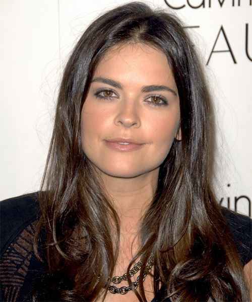 Katie Lee Long Straight Hairstyle