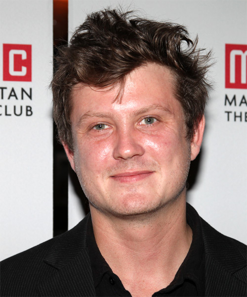 Beau Willimon  - Straight  Short Straight Hairstyle