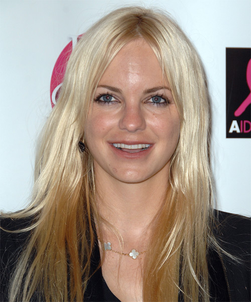 Anna Faris Long Straight Hairstyle