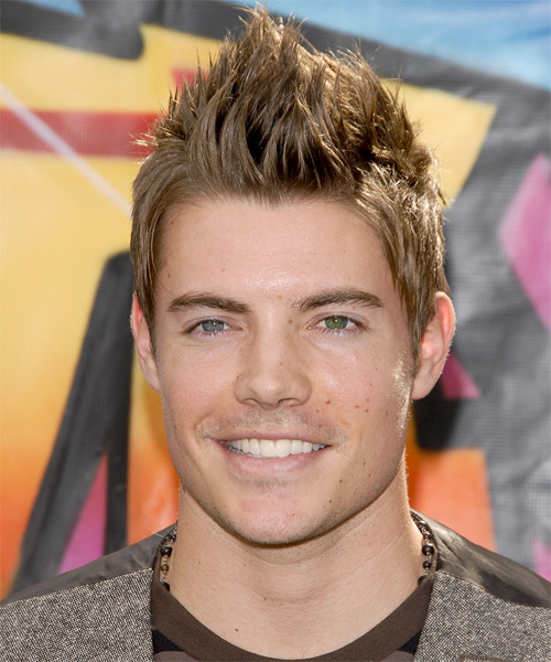 Josh Henderson Short Straight Casual Hairstyle