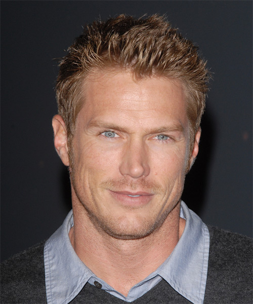Jason Lewis - Casual Short Straight Hairstyle