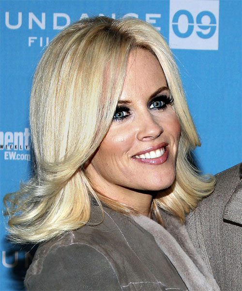 Jenny McCarthy Long Straight Casual Hairstyle