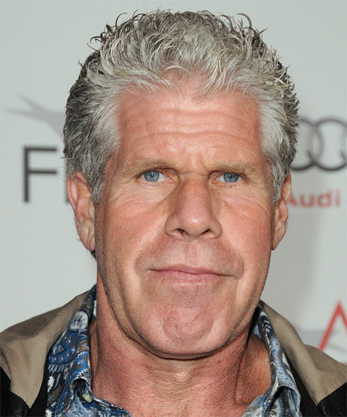 Ron Perlman - Casual Short Straight Hairstyle