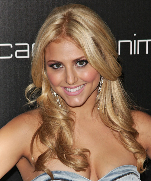 Cassie Scerbo Long Wavy Hairstyle
