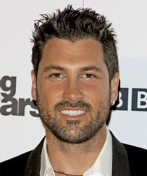 Maksim Chmerkovskiy Short Straight Casual Hairstyle