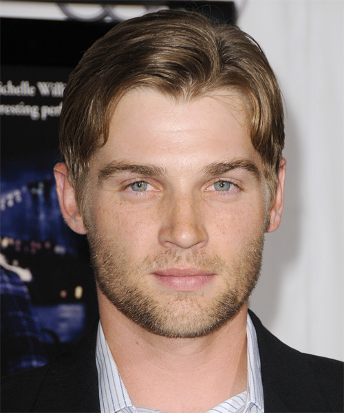 Mike Vogel Short Straight Hairstyle