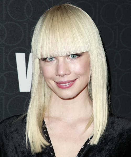 Erin Fetherston Long Straight Hairstyle