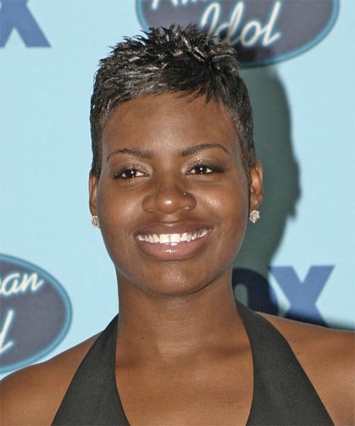 Fantasia Barrino Short Straight Hairstyle