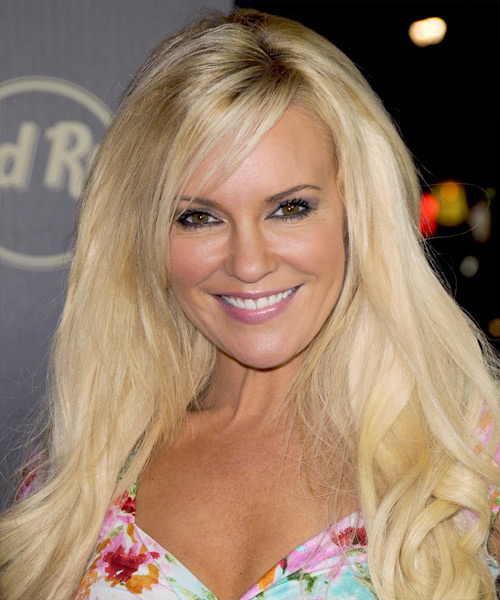 Bridget Marquardt Long Wavy Casual Hairstyle