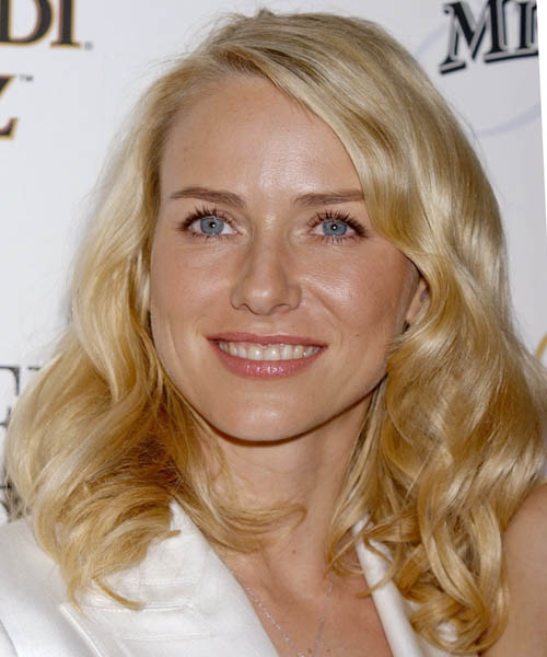 Naomi Watts Long Wavy Formal Hairstyle