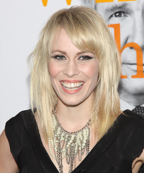 Natasha Bedingfield - Casual Medium Straight Hairstyle