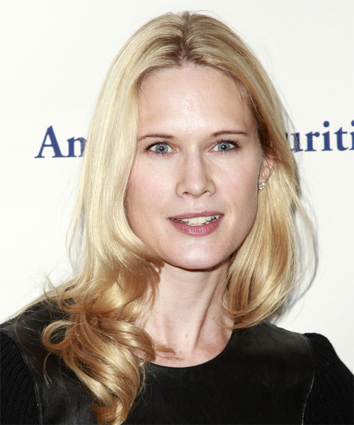 Stephanie March Long Wavy Formal Hairstyle