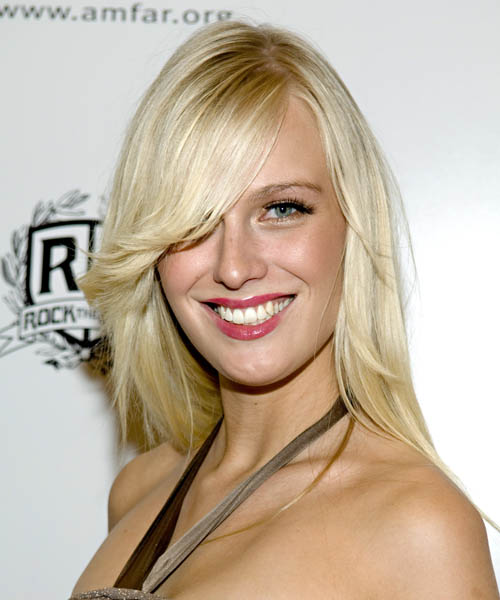 CariDee English Long Straight Formal Hairstyle