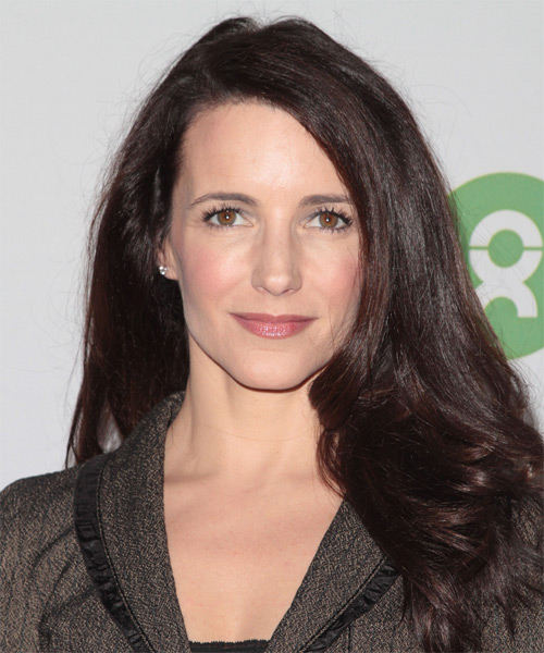 Kristin Davis Long Straight Hairstyle