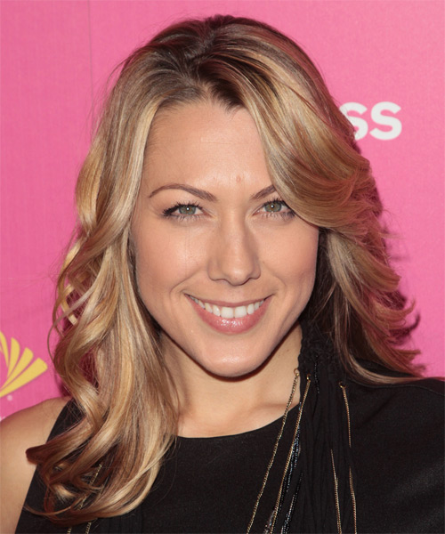 Colbie Caillat Long Wavy Formal Hairstyle