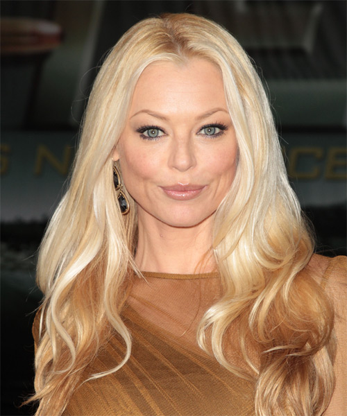Charlotte Ross Long Wavy Hairstyle