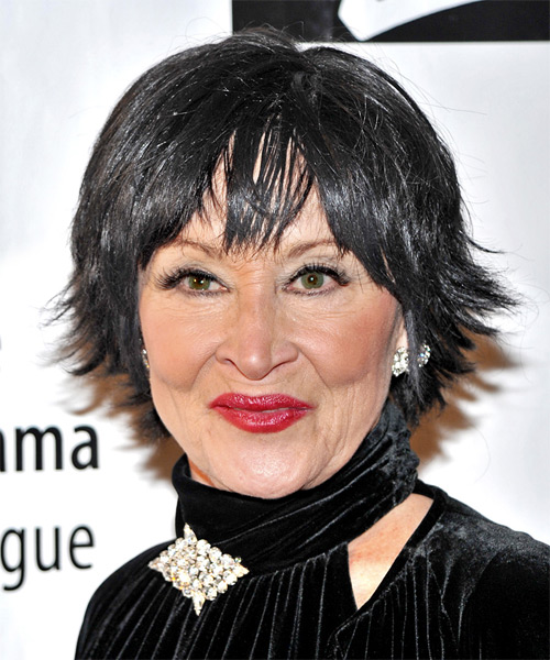 Chita Rivera Short Straight Hairstyle