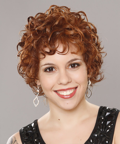 Sensational Short Curly Formal Hairstyle Ginger Thehairstyler Com Hairstyle Inspiration Daily Dogsangcom