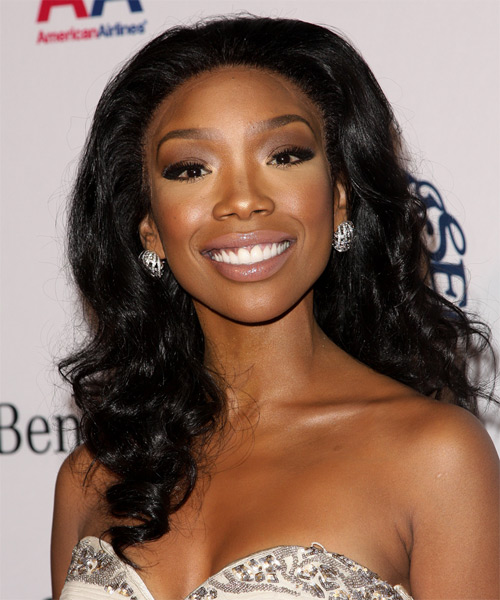 Brandy Long Wavy Hairstyle