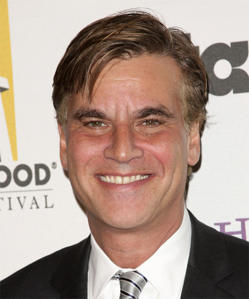 Aaron Sorkin Short Straight Hairstyle