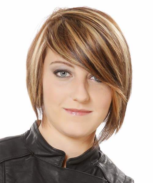 Short Straight Casual  - Medium Brunette (Caramel)