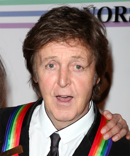 Paul McCartney Short Straight Casual Hairstyle
