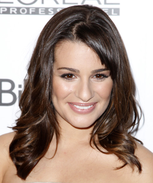 Lea Michele Wavy Formal