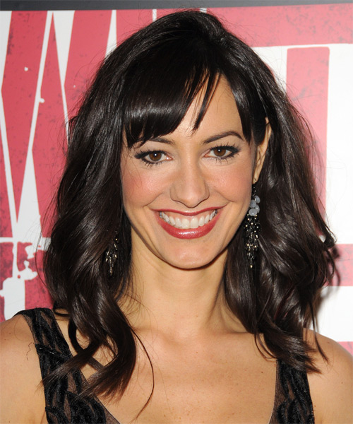 Charlene Amoia  - Casual Long Wavy Hairstyle