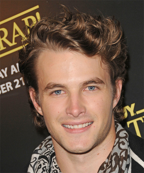 James Preston Short Wavy Casual Hairstyle