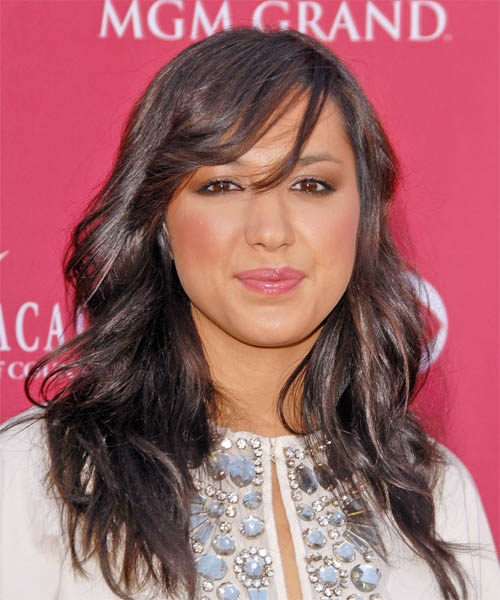 Michelle Branch Long Wavy Hairstyle