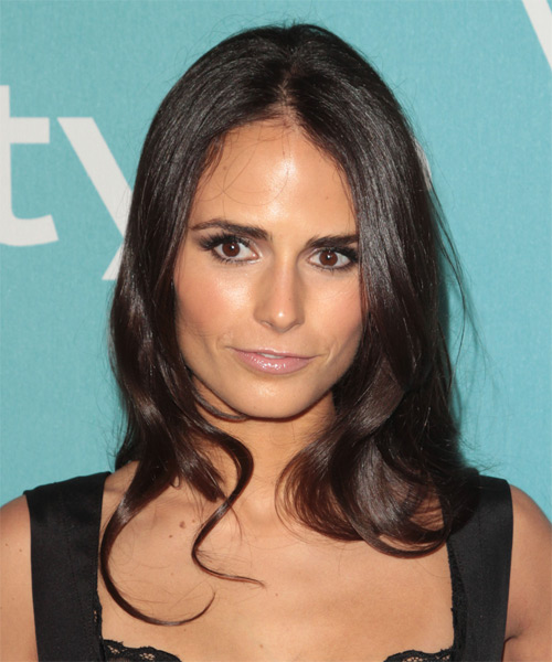 Jordana Brewster - Casual Long Straight Hairstyle