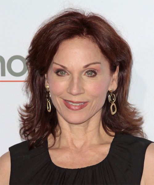 Marilu Henner Medium Straight Hairstyle